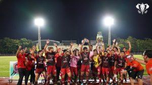 """ช้างเผือก """" เชียงใหม่ ยูไนเต็ด ทีมเต็งของการแข่งขันไทยลีก 2 ฤดูกาล"""