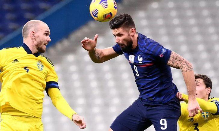 ฝรั่งเศส เปิดบ้านรัว สวีเดน 4-2