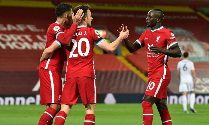หงส์แดง ฟอร์มเฉียบ รัวอัด จิ้งจอก 3-0 นำฝูงร่วมสเปอร์ส ศึกพรีเมียร์ลีก